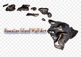 hawaiian island wall art logo animal