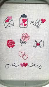 Romantic Embroidery Designs Romantic Embroidery Design Love Set Machine Embroidery