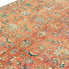 distressed persian rug revealing distressed rug 6 x 9 5 orange very unique vintage bosphorus distressed distressed persian rug
