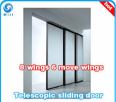 china telescopic 6 moving wing