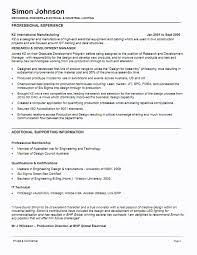 Sample Resume Mechanical Engineer mechanical engineering resume letter format template 22