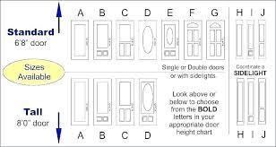 Double Entry Chart Front Door Sizes Canada External Uk India Exterior Width