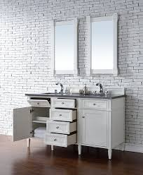 72 Inch Bathroom Vanity Double Sink Cool James Martin Brittany Double 48Inch Transitional Bathroom Vanity