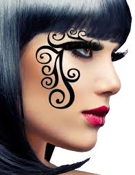 velvet eye mask stick on makeup