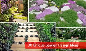 Small Picture 30 Unique Garden Design Ideas