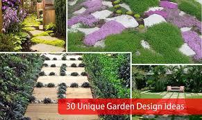 Small Picture 30 Unique Garden Design Ideas
