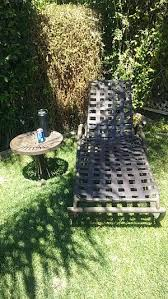 outdoor pool chair and round table for in los banos ca