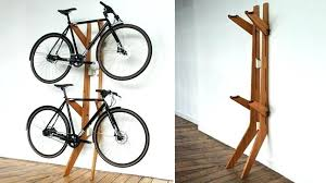 homemade wooden bike repair stand ways to a in style cool material