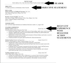 Resume Objective Example Beauteous Simple Resume Objectives Simple Career Change Resume Objective