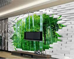 3d Muur Papier Beibehang Grote Custom 3d Behang Bakstenen Muur