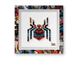 spiderman poster marvel comics art print gift idea birthday present wall art home decor print super hero theme comic book framed comic by papercraft3bit on  on marvel comics wall art uk with spiderman poster marvel comics art print gift idea birthday present