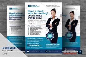 Tax Flyer Design Accounting Firm Flyer Letter Inches Included Guides