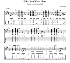 Wish You Were Here Strumming Pattern