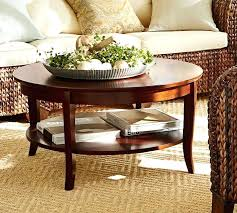 pottery barn griffin round coffee table round coffee table pottery barn regarding living room prepare 0