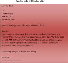 Formatting Business Letter Format Of A Business Letter