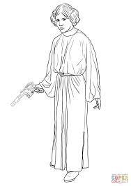 Small Picture Princess Leia coloring page Free Printable Coloring Pages