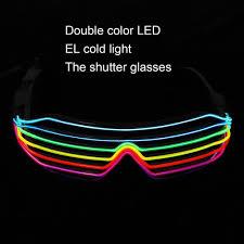 <b>Smart</b> Remote Control El Wire Neon <b>Light Up</b> Shutter Shaped <b>Glow</b> ...