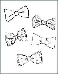 Free Printable Bow Tie Pattern Template Archives Tie Pattern