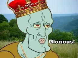 Glorious!   Handsome Squidward/Squidward Falling   Know Your Meme via Relatably.com