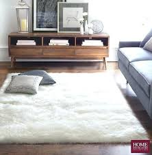 faux fur rug 5x7 stylish rugs for living room sheepskin area remodel