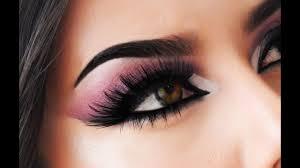 pink an black smokey eye alyssa edwards inspired makeup tutorial