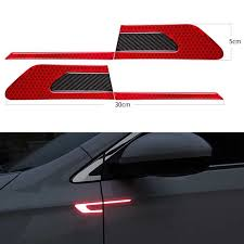 Printing & Graphic Arts Car Rearview Mirror <b>Reflective</b> Stickers ...