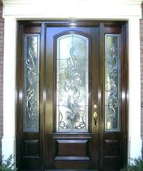 half glass front door glass exterior front doors wood glass front door elegant front doors with