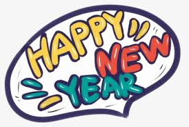 Transparent Happy New Year Banner Clipart - Cartoon New Year Designs, HD  Png Download - kindpng