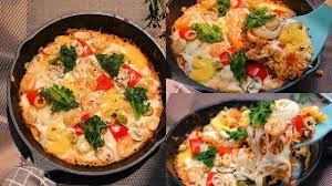 PIZZA KHÔNG CẦN LÒ NƯỚNG VỚI MỲ TÔM CHỈ 15 PHÚT | NHÀ GẠO | Gạo,  Mozzarella, Lò nướng