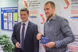 Сергей Ковалёв защитил магистерскую диссертацию на отлично
