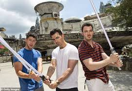 The Jonas Brothers Take A Break From Tour At Disney Worlds