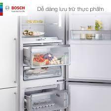 Bếp XANH - Kitchen & Home Appliances - DỄ DÀNG LƯU TRỮ THỰC PHẨM Tủ lạnh  Bosch có nhiều mẫu mã với các kích thước và thiết kế khác nhau để bạn