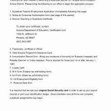Sample Resume Substitute Teacher Inspirational Sample Resume For