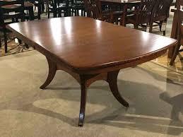 amish dining table room works quarter oak at furniture plans