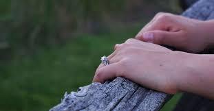 Engagement Ring Carat Size Chart Study Average Diamond Size For Engagement Rings 2019