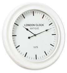 london classic wooden wall clock
