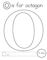 Preschool Octagon Coloring Pages Tags : Octagon Coloring Page ...