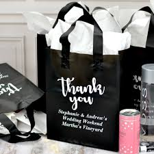 gifts favors custom paper bags wedding personalized favor pretty personalised gift guests for hotel