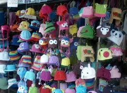 children s hats at chatuchak market very cool gifts for kids in bangkok