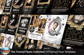 Club Flyer Maker The Framed Flyers Collection FlyerHeroes 9