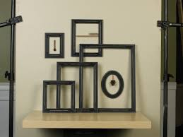 6 Piece Distressed Empty Frame
