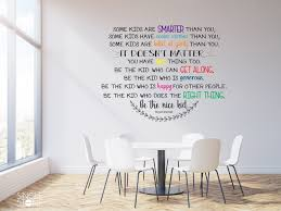 Be The Nice Kid Wall Decal - Multiple Colors - Wall Decals | Wall ...