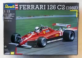 < 1982 ferrari 126 c2 ow blueprint. Revell 1 12 07229 Ferrari 126 C2 1982 Model Kit
