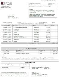 Invoice Statement Example Billing Statements