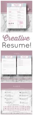 Love This Creative Resume And Love That There Is A Resume