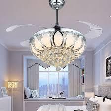 full size of living fabulous crystal chandelier ceiling fan 13 modern light luxury folding dining room