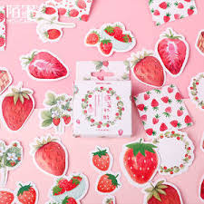 sticker strawberry — купите sticker strawberry с бесплатной ...
