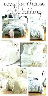 farmhouse bedding sets french style medium size of quilt cover king
