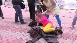 Pussy Riot Flogged by Cossacks in Sochi YouTube