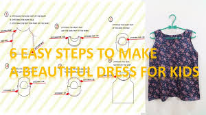 How To Make A Dress Pattern Unique How To Make A Dress Pattern And Sew A Beautiful And Simple Dress For